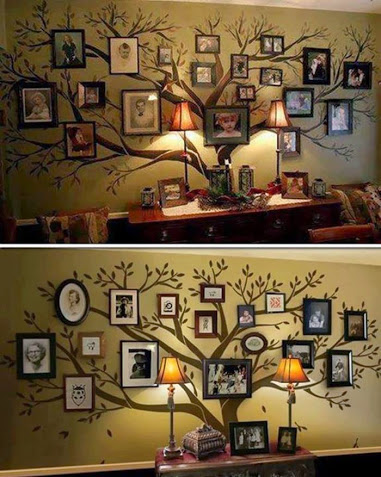 Family Tree Wall Decal-家庭树墙贴花