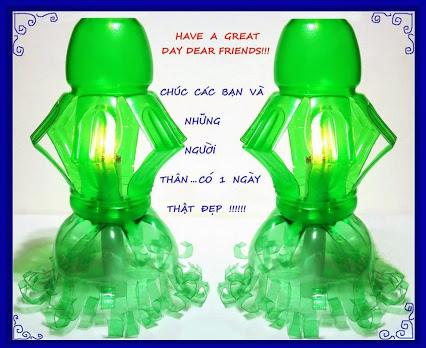 塑料瓶蜡烛组合的设计
