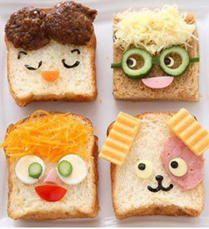 Creative Sandwiches.创意三文治