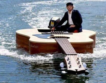 Piano Boat !钢琴船