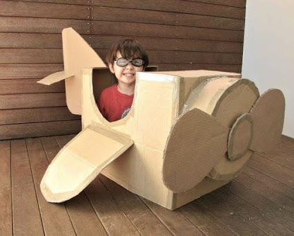 Cardboard Box Creation Your Kids Will Love!