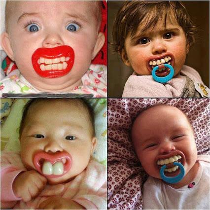 宝宝可爱的奶嘴
