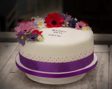 Flower Garden Cake花卉园蛋糕