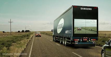 貨櫃車配「相機 + 屏幕」簡單設計,將拯救無數人生命!