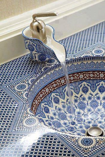 Sink Design from Morocco ..