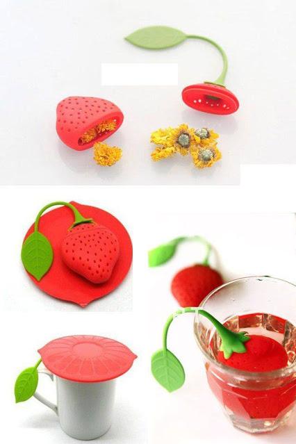 Creative and Fun Tea Infuser Design For The Tea Lover创意和乐趣茶包设计,为茶情人