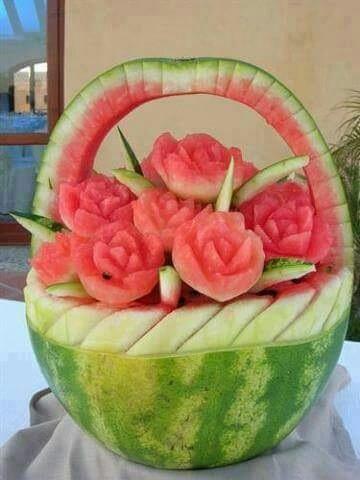 创意西瓜水果篮