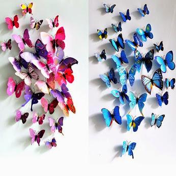 叠纸蝴蝶摆设