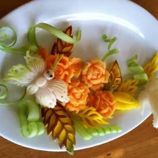 art of fruits in carving and display水果创意
