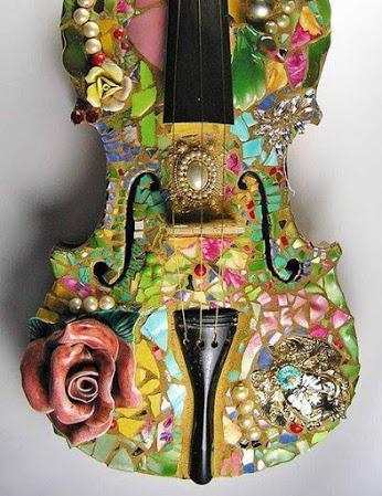 Mosaic Guitar.马克思吉他