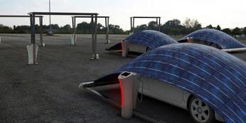 MODERN PARKING SHADES现代停车棚