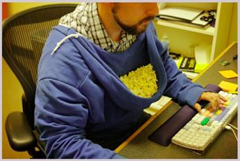 The real use of hoodies爱玩电脑的你 也会选择如此吗?