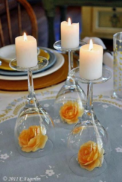 浪漫气氛蜡烛夜