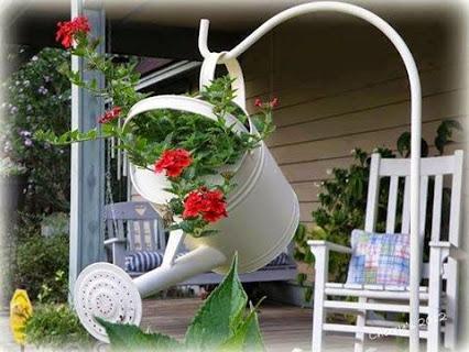 花洒种花好创意