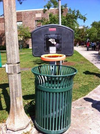 垃圾桶创意
