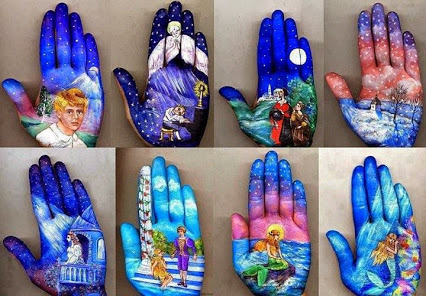 Amazing hand painting art! 神奇的手绘画艺术!