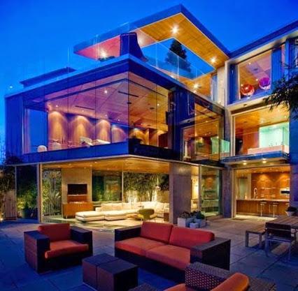 Beautiful home design. 美丽的家居设计。