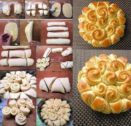 Homemade Happy Bread. 自制有趣的面包。