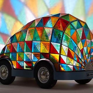 Colorful beetle七彩甲虫车