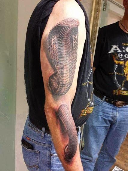 3D Tattoo Amazing Art!三维纹身奇异的艺术。