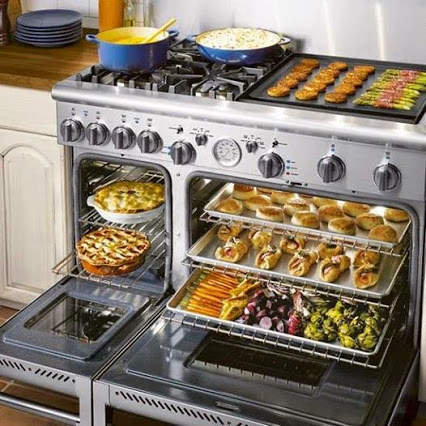 A Dream Stove For Any Kitchen.梦炉for any厨房。