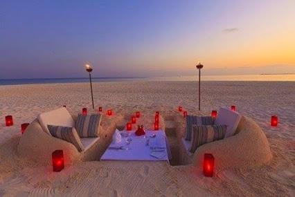 Amazing !惊人的沙滩餐厅