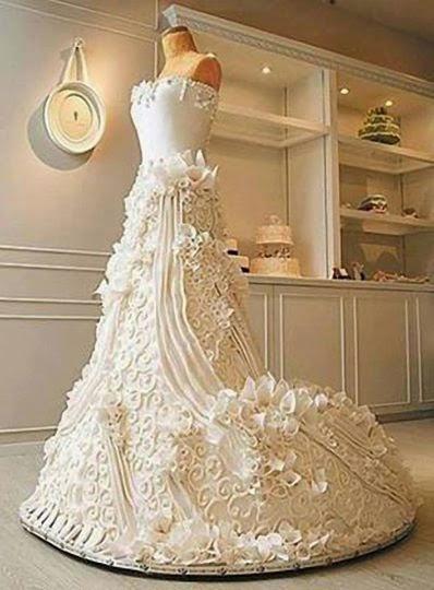 Amazing Wedding Cake.惊人的婚礼蛋糕。