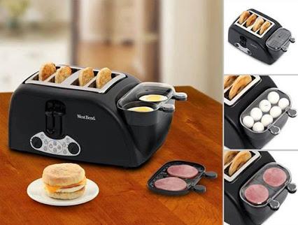 Amazing breakfast contraption!惊人的早餐的玩意儿!