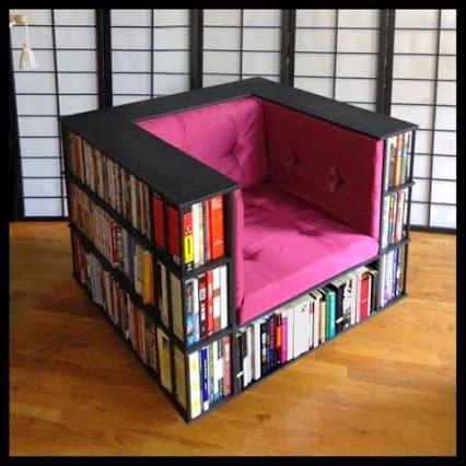 Book shelf chair!书架沙发!