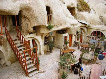 Cave Hotel - Cappadocia, Turkey洞穴酒店-土耳其卡帕多西亚,
