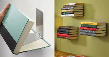 Conceal Invisible book Shelf.隐藏不可见的书架。