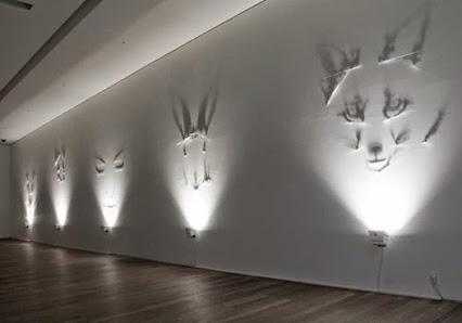 Fabrizio Corneli shadow art!费比诺柯内里皮影艺术!