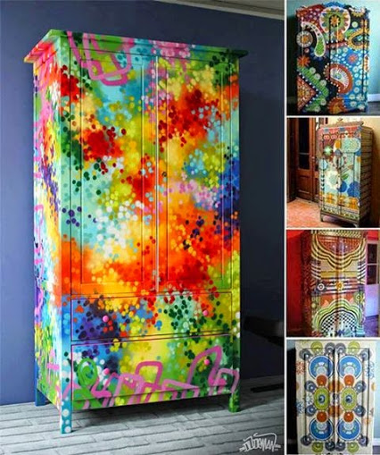 Funky & Fabulous Painted Furniture质朴的神话般的家具漆