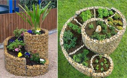 Herb Spiral Garden.螺旋花园。