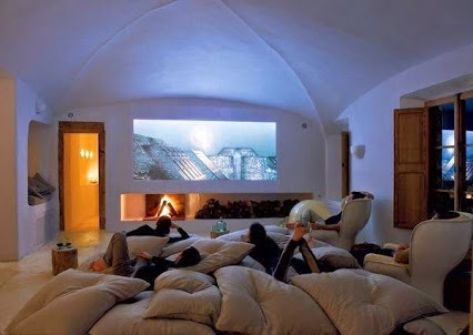 Home Theater Room.家庭影院室。