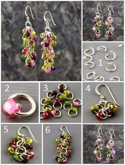 How to make earrings如何做耳环
