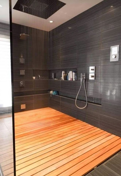 I want my future shower to look like this!我希望我未来的淋浴室像这样!创意浴室