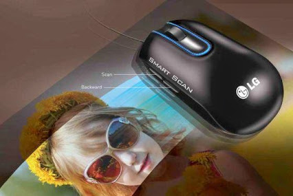 LG Smart Mouse ScannerLG智能鼠标扫描器