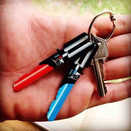 Light Saber Keys.光剑的钥匙。