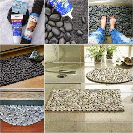Natural Stone Carpets.天然石材的地毯。