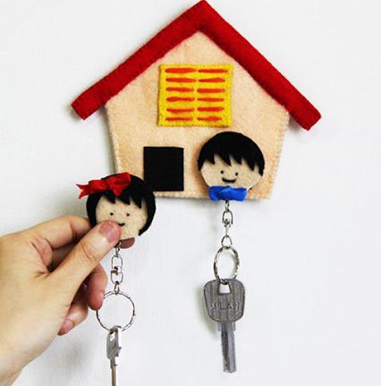 Never lose your keys again!永远不会失去你的钥匙了!