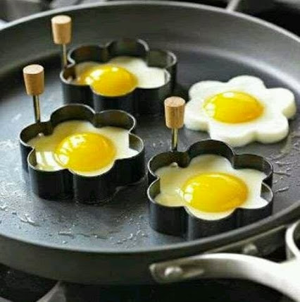Nice Shape Egg Idea.创意煎蛋