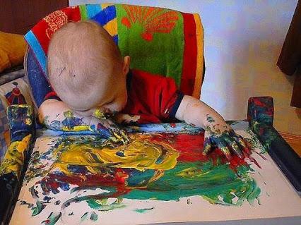 Picasso got tired ...毕加索厌倦了…呵呵。。。
