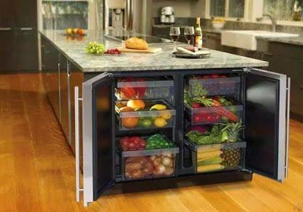 Refrigerator Concept !冰箱的概念!