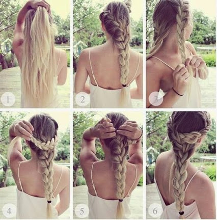 Romantic Hairstyle.浪漫的发型。