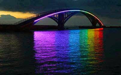 Xiying Rainbow Bridge, Magong, Taiwan.....息影的彩虹桥,马公,台湾.....