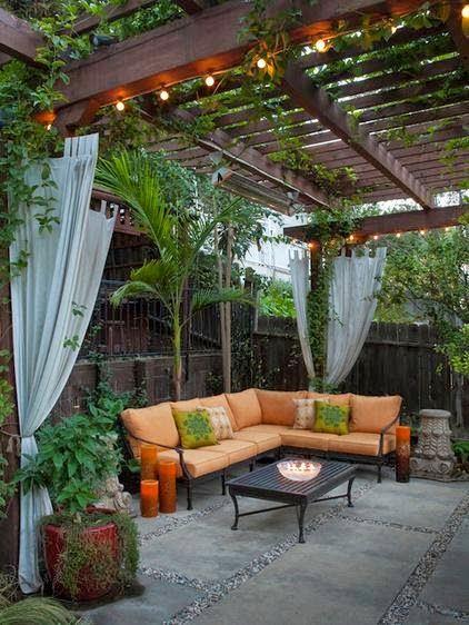 Beautiful Backyard.美丽的后院。