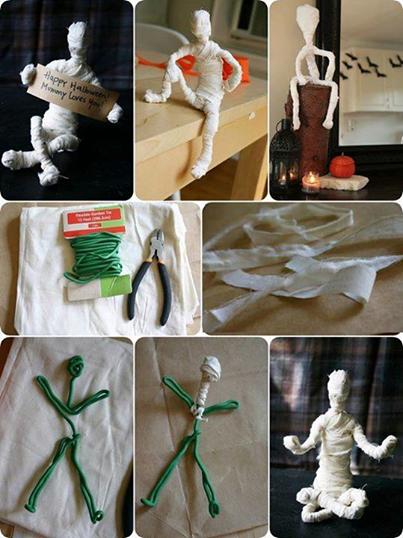 Halloween Mummy.万圣节木乃伊。