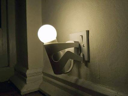 It's Creative !创意壁灯!
