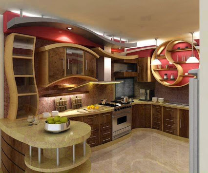 Beautiful kitchen design漂亮的厨房设计